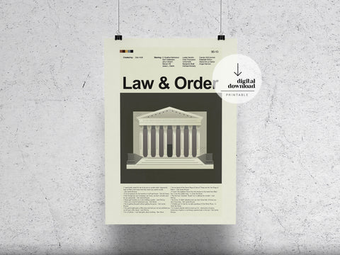 Law and Order | DIGITAL DOWNLOAD