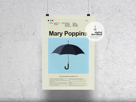 Mary Poppins | DIGITAL DOWNLOAD