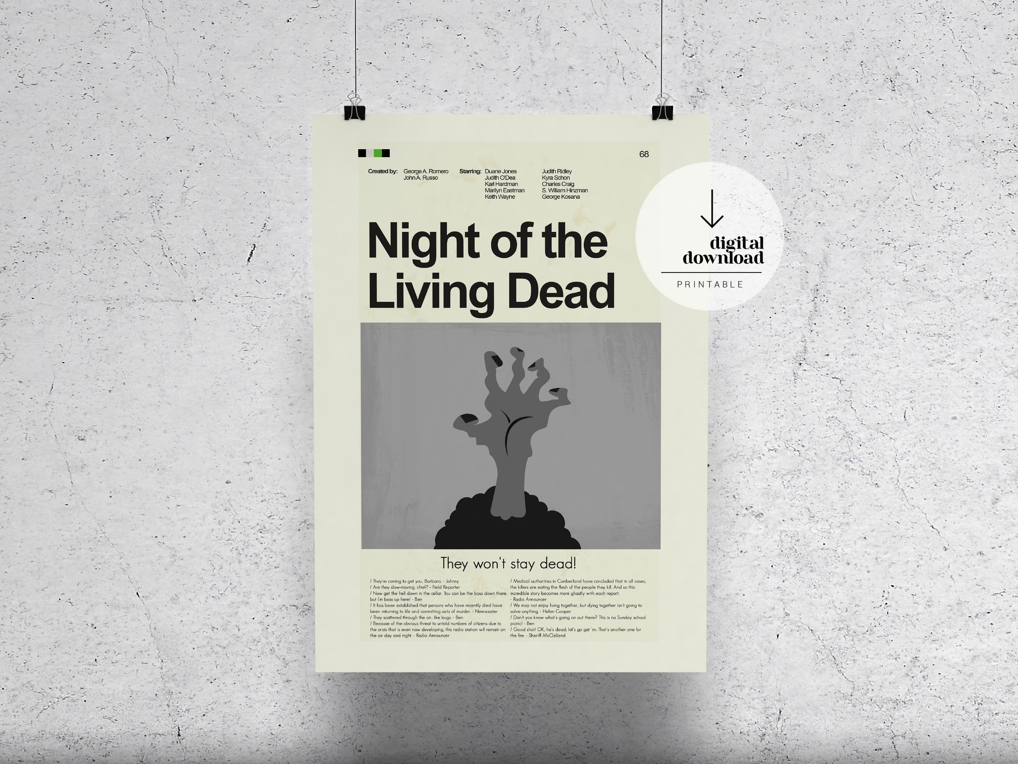 Night of the Living Dead | DIGITAL DOWNLOAD