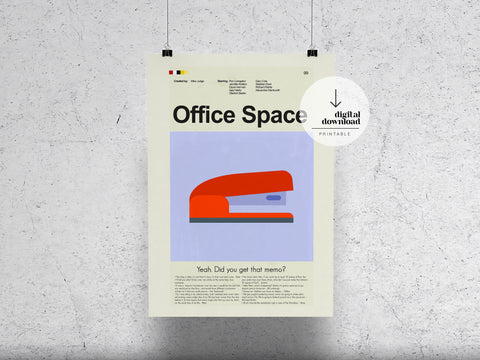 Office Space | DIGITAL DOWNLOAD