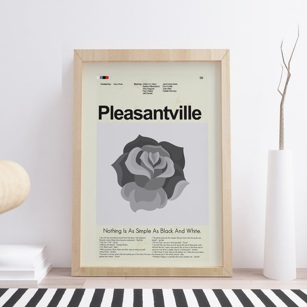 Pleasantville Inspired Mid-Century Modern Print 12x18 | Print only