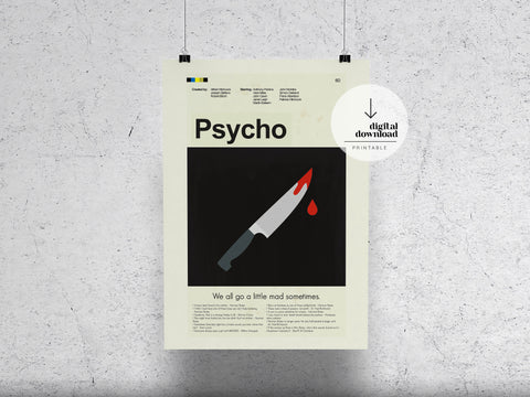 Psycho | DIGITAL DOWNLOAD