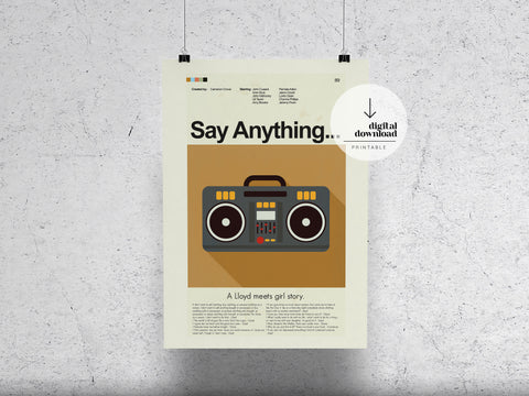 Say Anything | DIGITAL DOWNLOAD