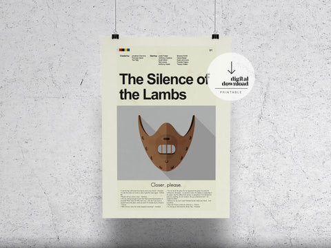 Silence of the Lambs | DIGITAL DOWNLOAD