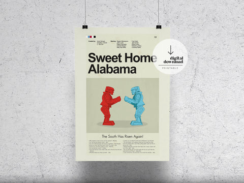Sweet Home Alabama | DIGITAL DOWNLOAD