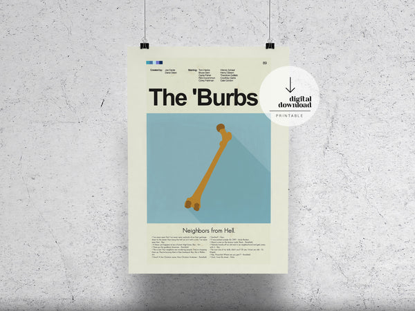 The 'Burbs | DIGITAL DOWNLOAD