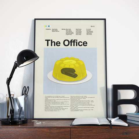 "The Office - Stapler in Jello | 12""x18"" Print only"