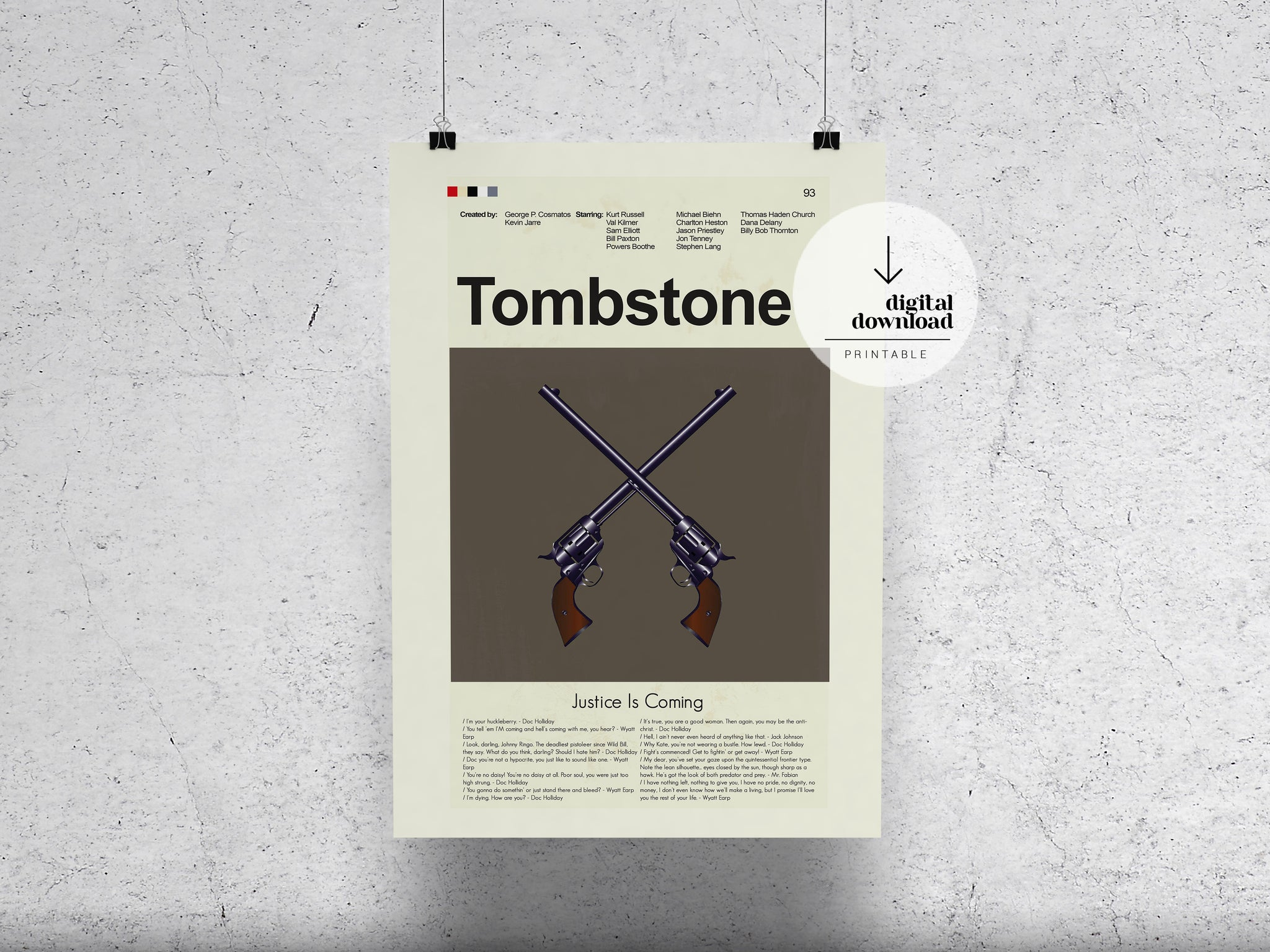 Tombstone | DIGITAL DOWNLOAD