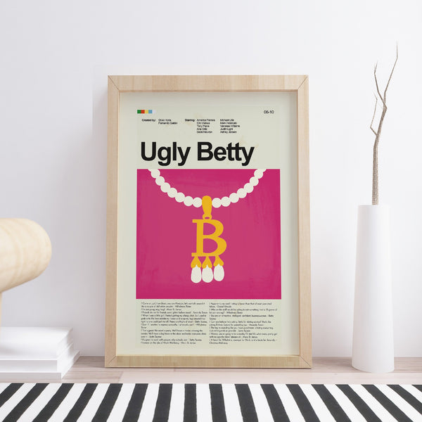 Ugly Betty Mid-Century Modern Print 12x18 | Print only
