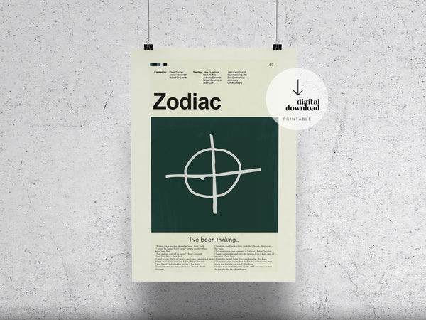 Zodiac | DIGITAL DOWNLOAD