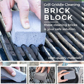🔥Summer Limited Time-50% OFF🔥Grill Griddle Cleaning Brick Block
