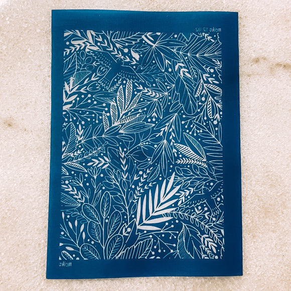 Botanical Silk Screen