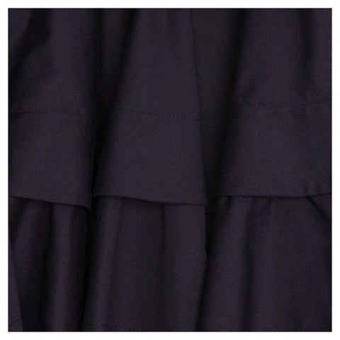 Find an authentic preowned Azzedine Alaia Navy Cotton Halter Dress size 42 (French) at BunnyJack, where a portion of every sale goes to charity.