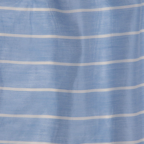 Sky Blue Striped Top