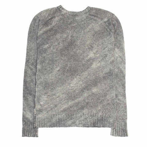 Find an authentic preowned Balmain Grey Spray Effect Wool Sweater size 40 (French) at BunnyJack, where a portion of every sale goes to charity.