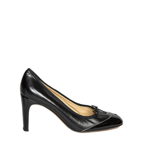 Chanel Black Patent Leather Shoes, size 41 (Italian)