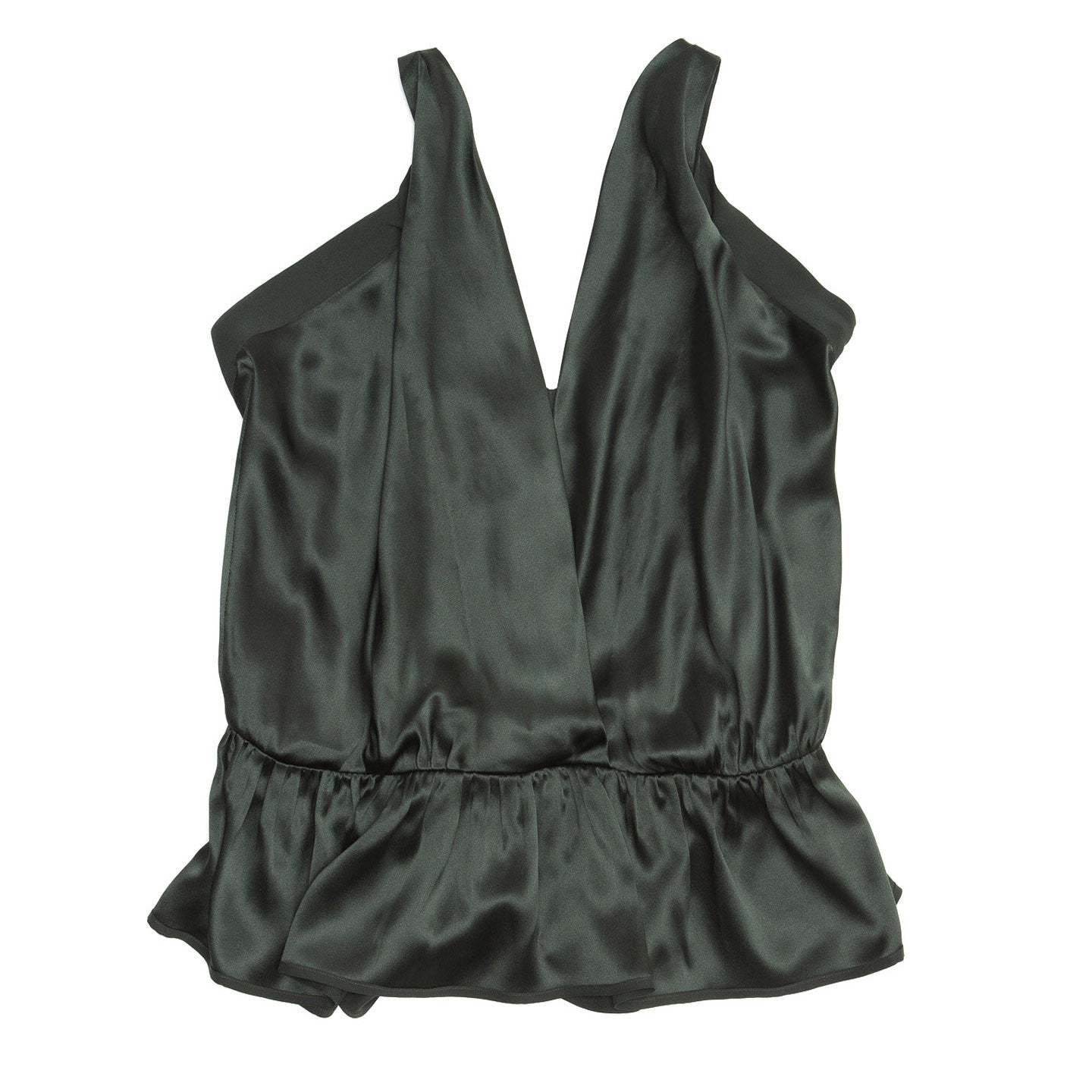 Chloe Green Silk Sleeveless Top, Size 42 (French)