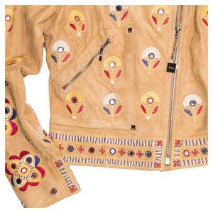Find our Christian Dior Jacket with Suede Embroidery at BunnyJack.