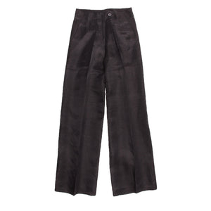 Find shiny palazzo pants from Donna Karan, authentic and preowned in size 12 (US) at BunnyJack, where a portion of every sale price goes to charity. Search our wide selection of designer clothing.