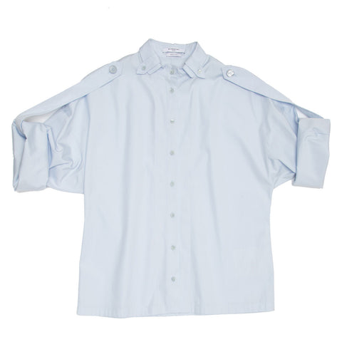 Givenchy Sky Blue Kimono Sleeved Shirt, size 42 (French)