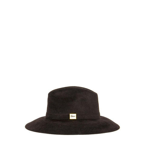 Find an authentic preowned Gucci Brown Rabbit Hair Hat, size M at BunnyJack, where a portion of every sale goes to charity.