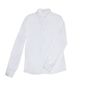 Helmut Lang White Stretch Cotton Shirt