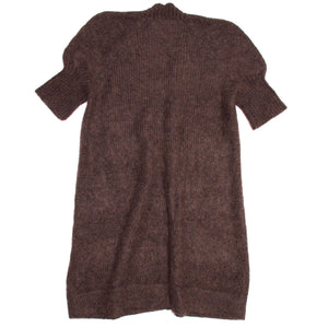 Find an authentic preowned Hermès Brown Angora Long Sweater, size 44 (French) at BunnyJack, where a portion of every sale goes to charity.