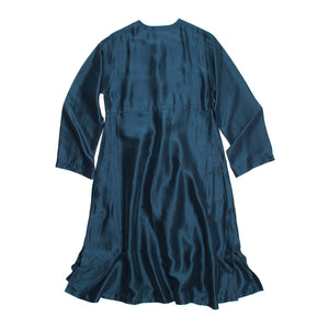 Find an authentic preowned Hermès Blue Silk Dress, size 40 (French) at BunnyJack, where a portion of every sale goes to charity.