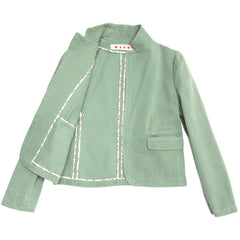 Pastel Green Cotton Jacket