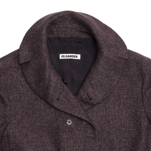 Find an authentic preowned Jil Sander Grey Wool Tweed Jacket, size 44 (French) at BunnyJack, where a portion of every sale goes to charity.