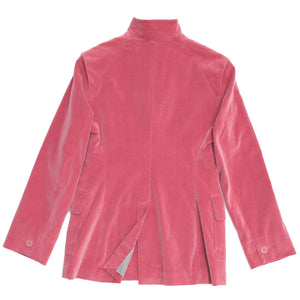 Find an authentic preowned Jil Sander Pink Velvet Blazer, size 42 (French) at BunnyJack, where a portion of every sale goes to charity.