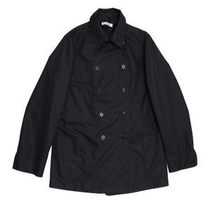 Find an authentic preowned Jil Sander Navy Double Breasted Raincoat, size 40 (French) at BunnyJack, where a portion of every sale goes to charity.