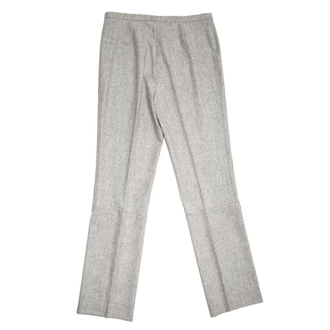Find authentic preowned Jil Sander Grey Wool Classic Pants, size 42 (French) at BunnyJack, where a portion of every sale goes to charity.