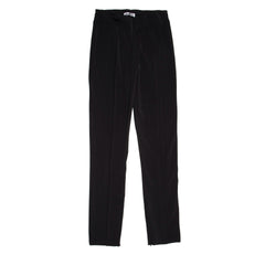 Find an authentic preowned Jil Sander Black Stretch Trousers, size XL at BunnyJack, where a portion of every sale goes to charity.
