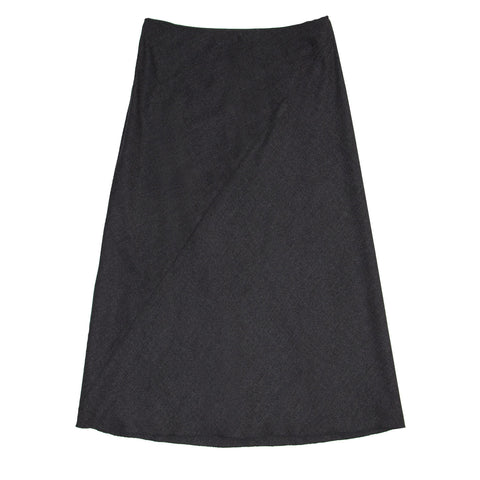 Jil Sander Grey Wool A-Shape Skirt, size 42 (French)