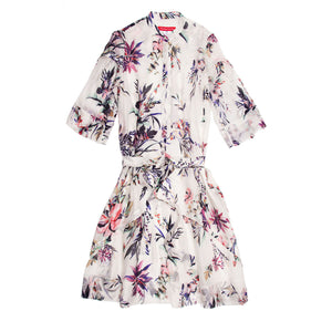 Multicolor Floral Shirt Dress