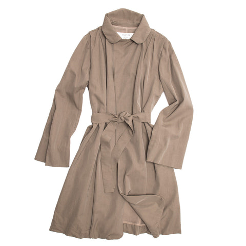 Lanvin Taupe Classic Trench Coat, size 40 (French)