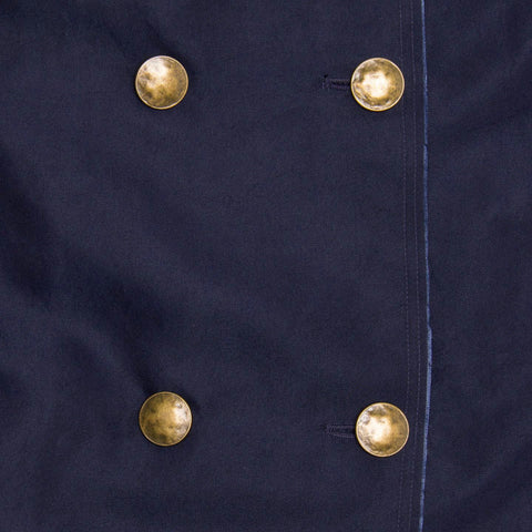 Find an authentic preowned Lanvin Navy Double Breasted Overcoat, size 42 (French) at BunnyJack, where a portion of every sale goes to charity.