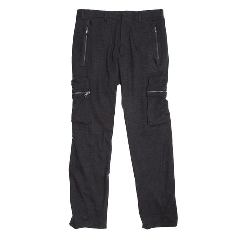 Find authentic preowned Lanvin Dark Grey Cargo Style Pants, size 50 (Italian) at BunnyJack, where a portion of every sale goes to charity.