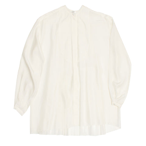 Lanvin Ivory Silk Shirt, size 36 (French)