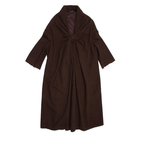 Brown Wool Tent Dress
