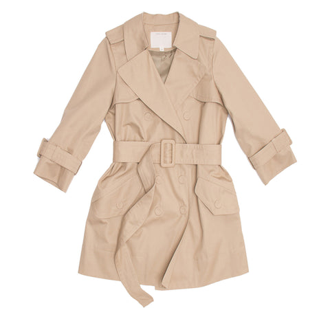 Marc Jacobs Khaki Trench Coat, Size 8 (US)