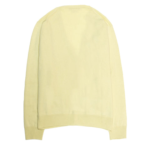 Marc Jacobs Yellow Cashmere Cardigan