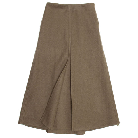 Marc Jacobs Green Brown Wool Skirt