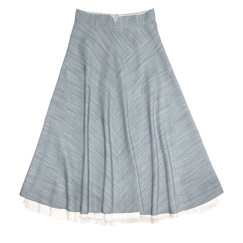 Marc Jacobs Sky Blue A-Line Skirt