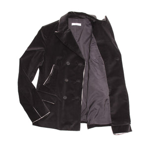 Find an authentic preowned Prada Dark Grey Corduroy Blazer size 46 (Italian) at BunnyJack, where up to 50% of each sale price is donated to charity.