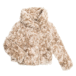 Find an authentic Prada Beige Mohair Cropped Jacket, size 44 (Italian) at BunnyJack, where up to 50% of each sale price is donated to charity.