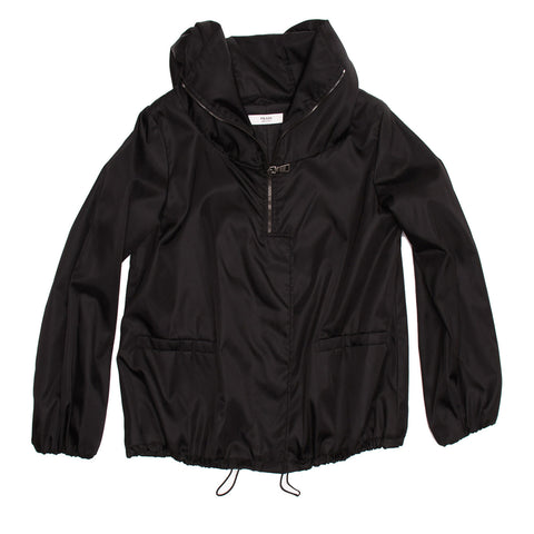 Find an authentic preowned Prada Black Insulated Hooded Windbreaker size 42 (Italian) at BunnyJack, where up to 50% of each sale price is donated to charity.