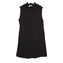 Find an authentic preowned Prada Black Pleated Shift Dress size 38 (Italian) at BunnyJack, where up to 50% of each sale price is donated to charity.
