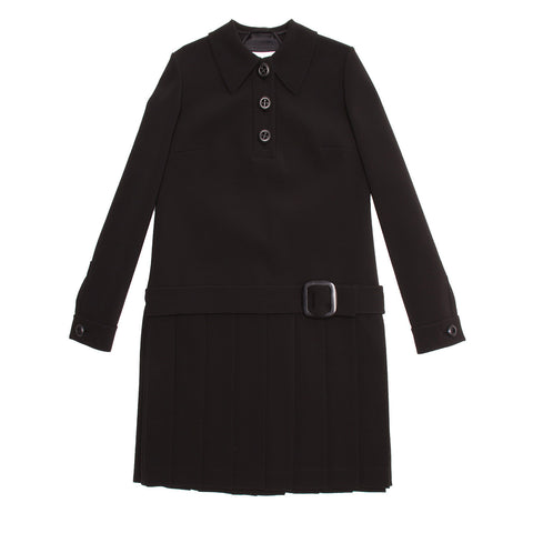 Find an authentic preowned Prada Black Drop Waist Dress size 46 (Italian) at BunnyJack, where up to 50% of each sale price is donated to charity.